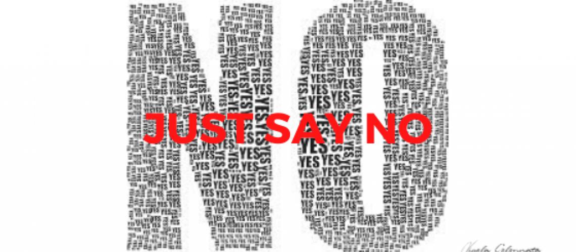 banner just say no
